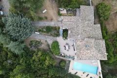 Serre Des Ormes Drone View